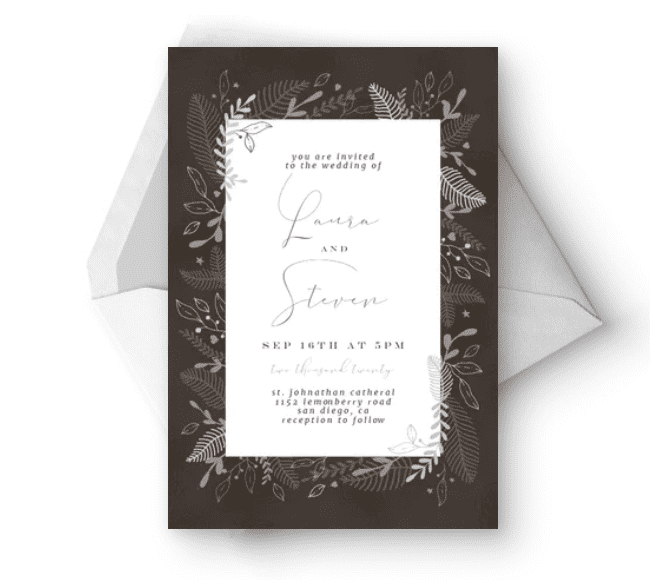 30+ Best Wedding Invitation Templates 2020: Free and Premium - template 14