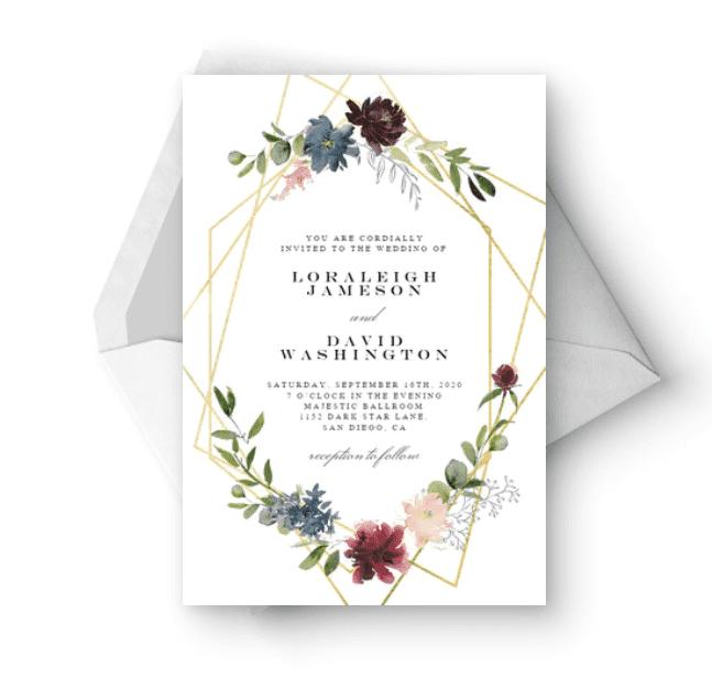 30+ Best Wedding Invitation Templates 2020: Free and Premium - template 15