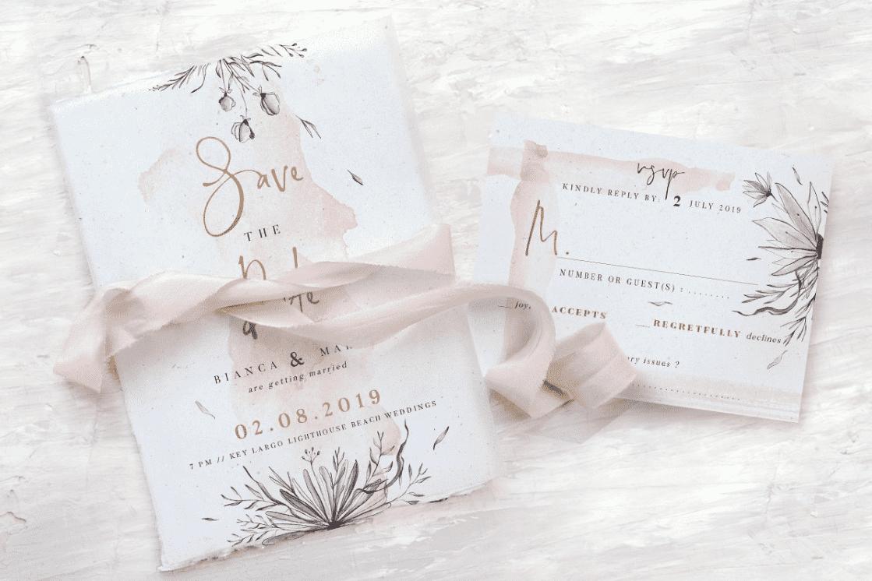 30+ Best Wedding Invitation Templates 2020: Free and Premium - template 17
