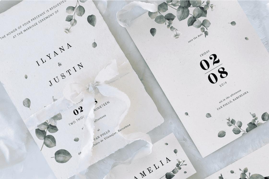 30+ Best Wedding Invitation Templates 2020: Free and Premium - template 18