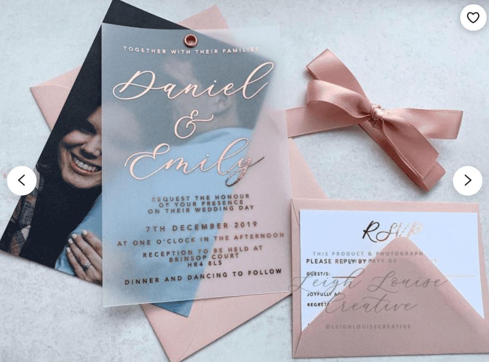 30+ Best Wedding Invitation Templates 2020: Free and Premium - template 20