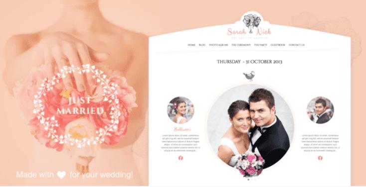 30+ Best Wedding Invitation Templates 2020: Free and Premium - template 3