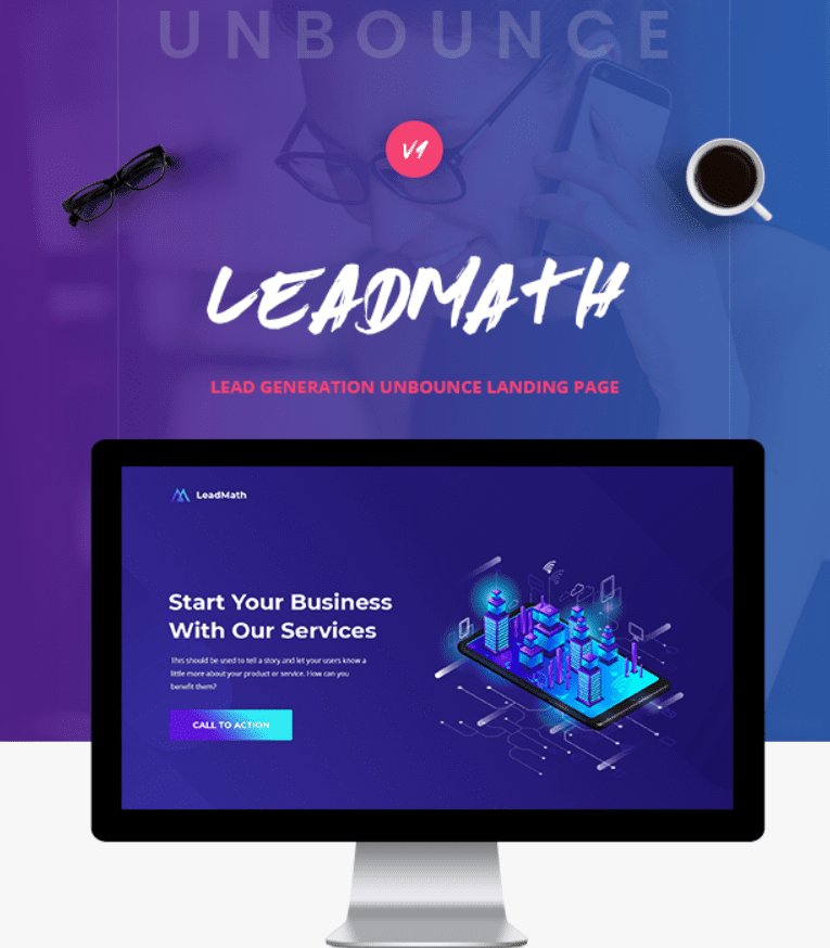 30+ Best Unbounce Templates in 2020: Free and Premium - unbounce template 17