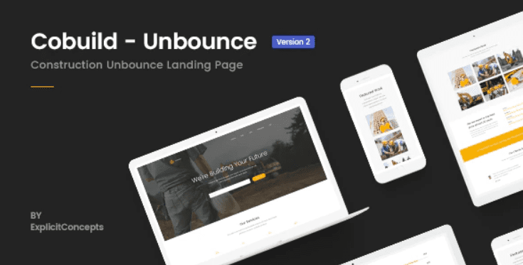 30+ Best Unbounce Templates in 2020: Free and Premium - unbounce template 18