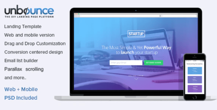 30+ Best Unbounce Templates in 2020: Free and Premium - unbounce template 8