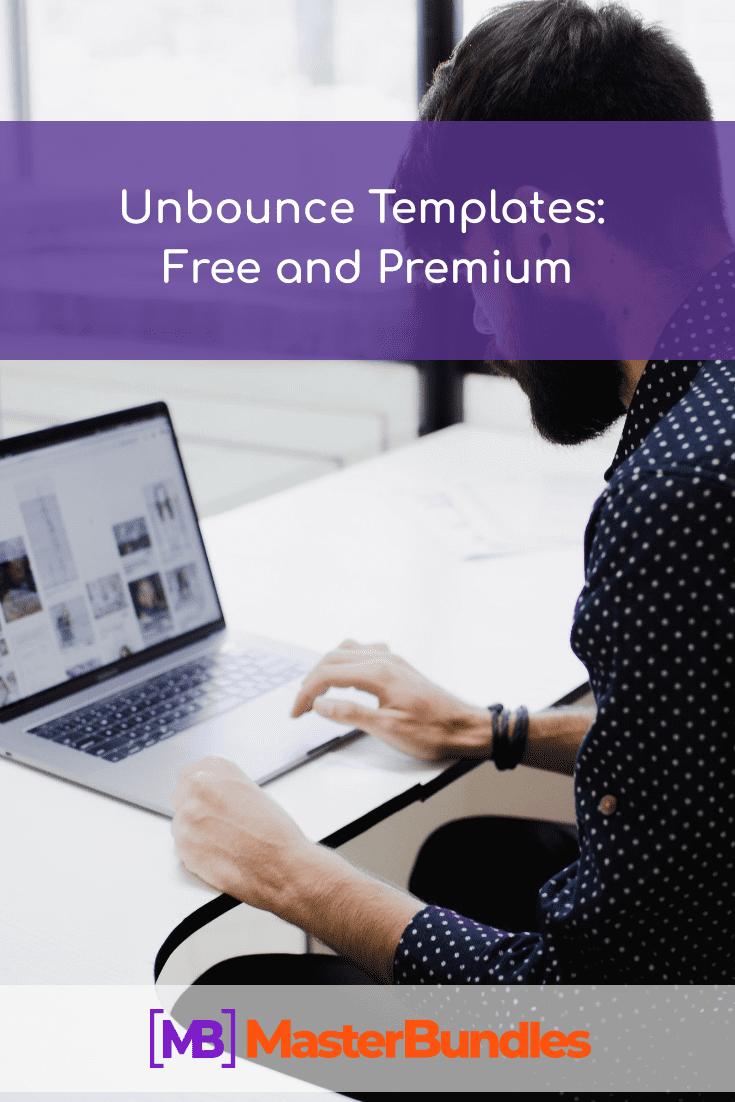 Unbounce templates. Pinterest Image.