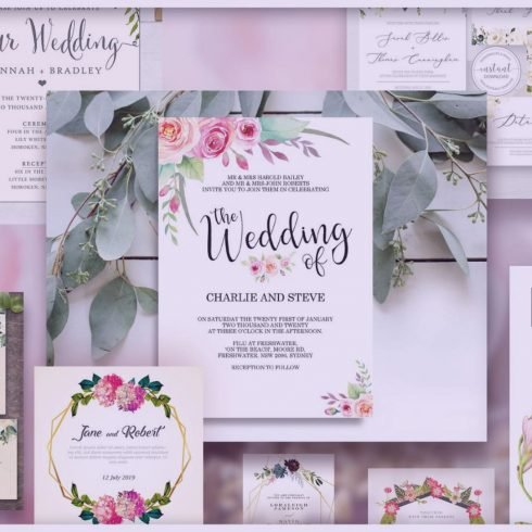 30+ Best Wedding Invitation Templates 2021: Free and Premium
