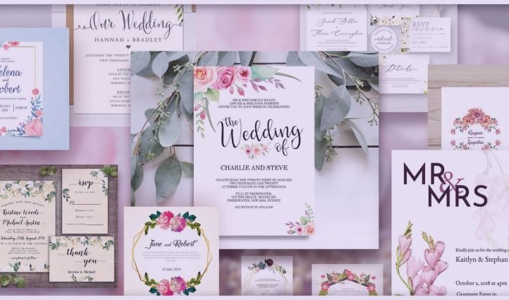 Best Wedding Invitation Templates: Free and Premium.
