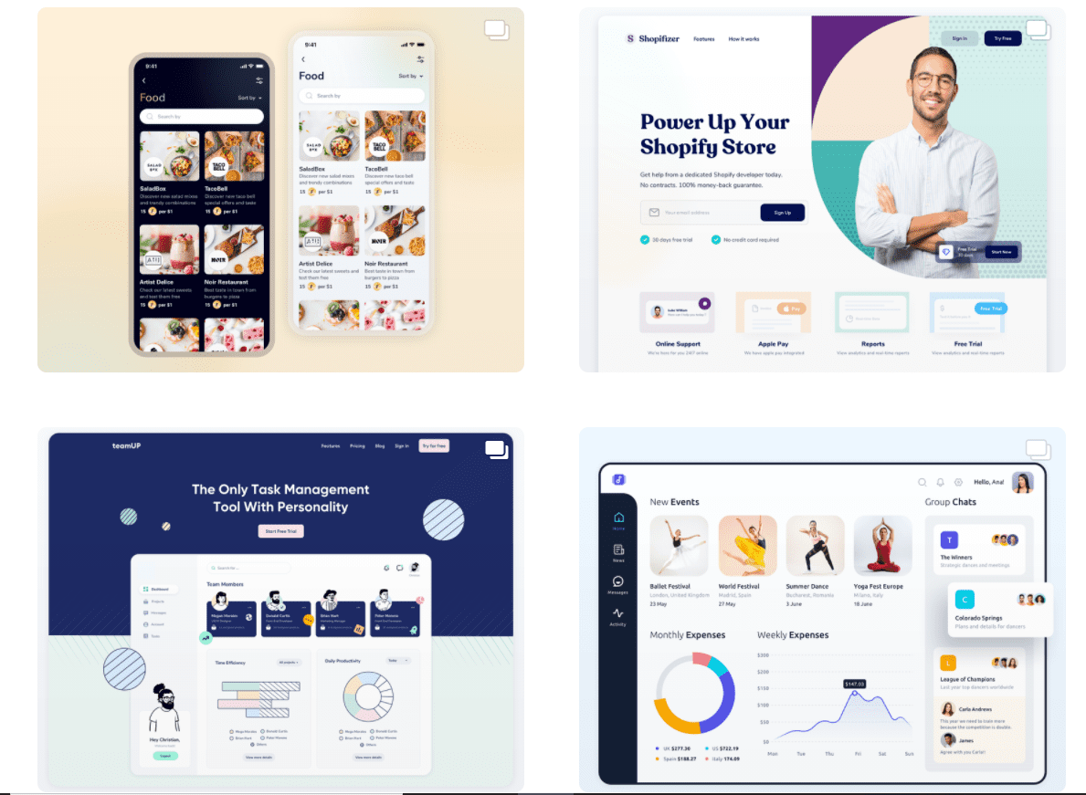50 Best Dribbble Accounts 2020 🏆 - designer 11