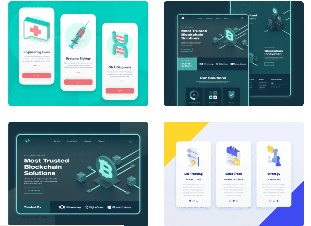 50 Best Dribbble Accounts 2020 🏆 - designer 13