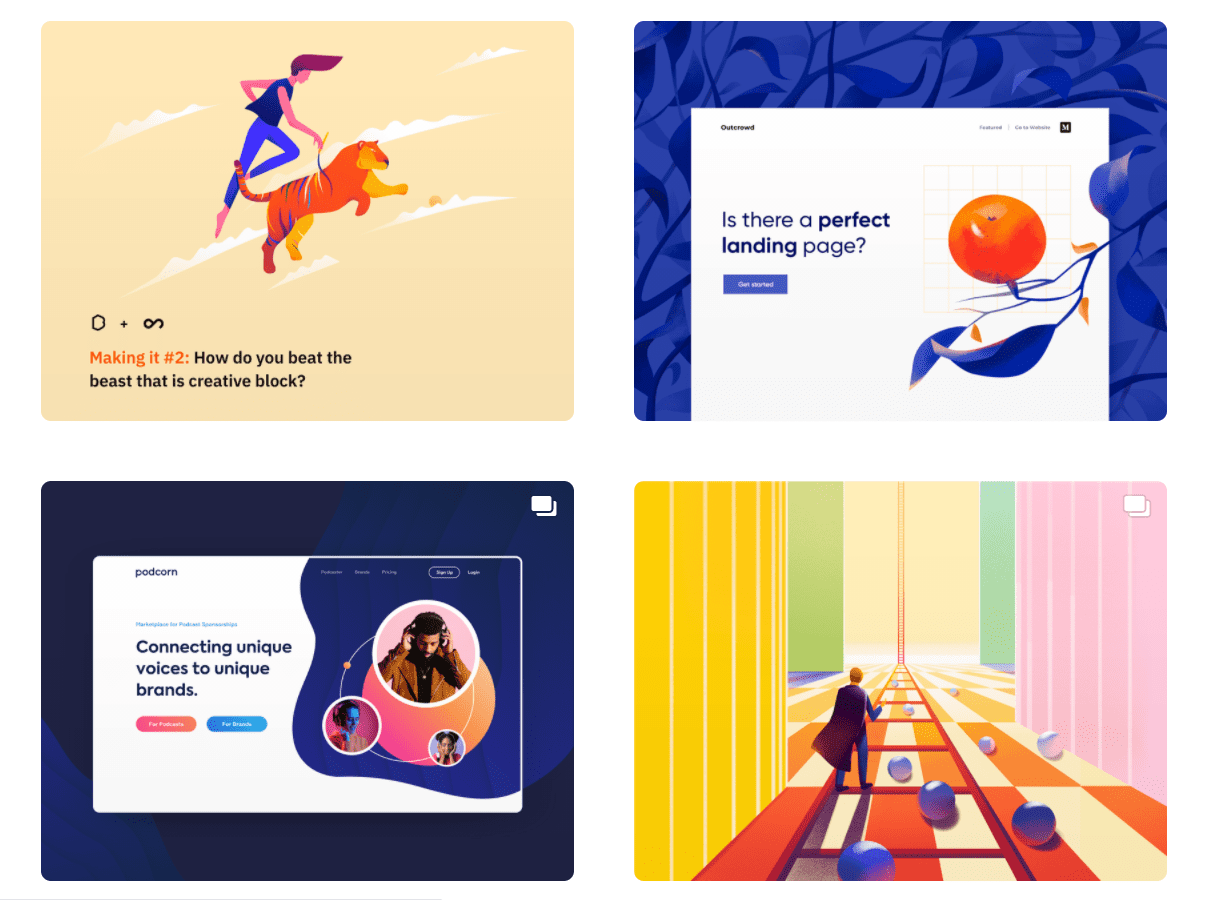 50 Best Dribbble Accounts 2020 🏆 - designer 14