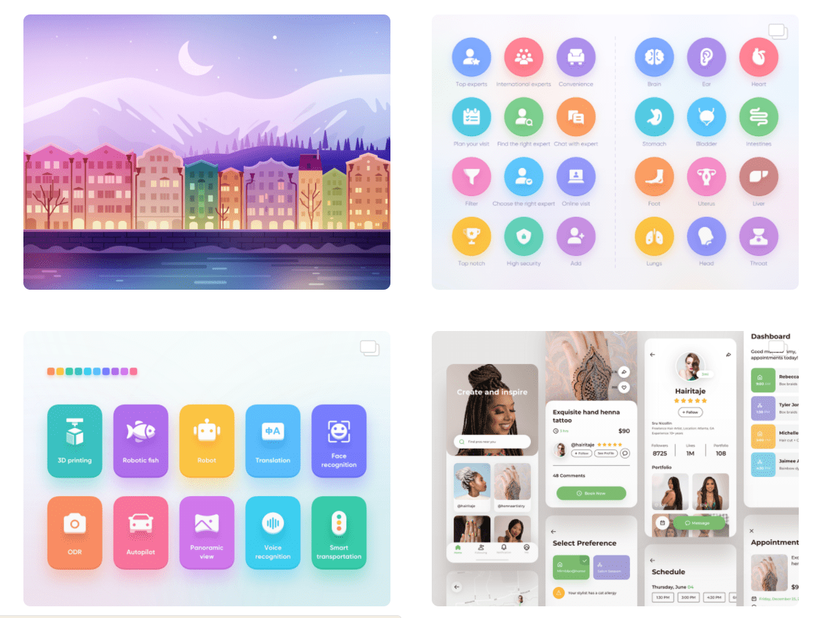 50 Best Dribbble Accounts 2020 🏆 - designer 17