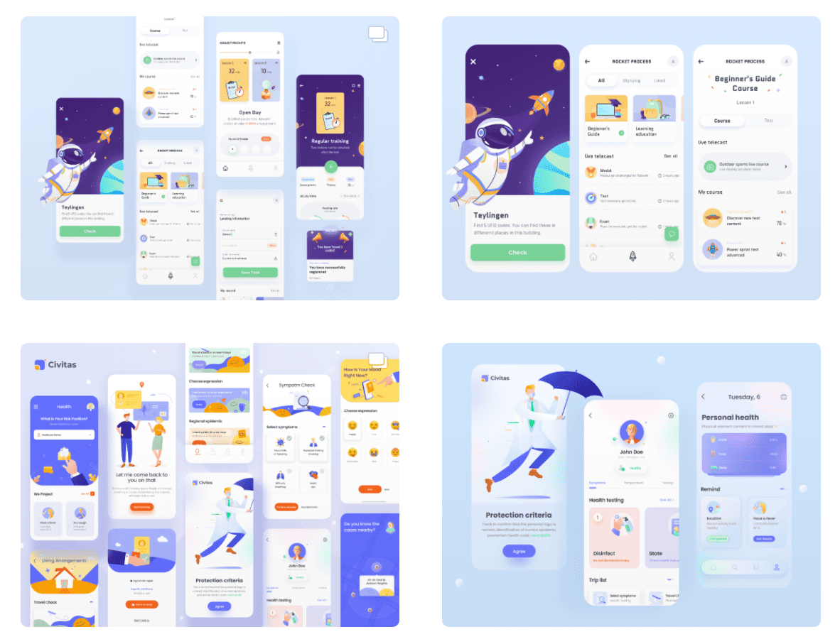 50 Best Dribbble Accounts 2020 🏆 - designer 18