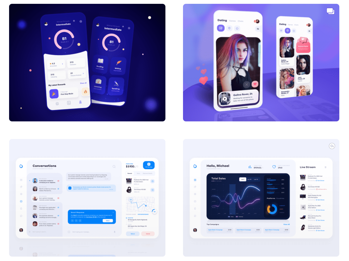 50 Best Dribbble Accounts 2020 🏆 - designer 27