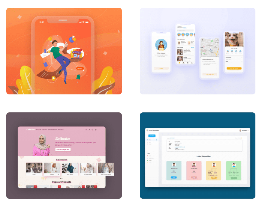 50 Best Dribbble Accounts 2020 🏆 - designer 31