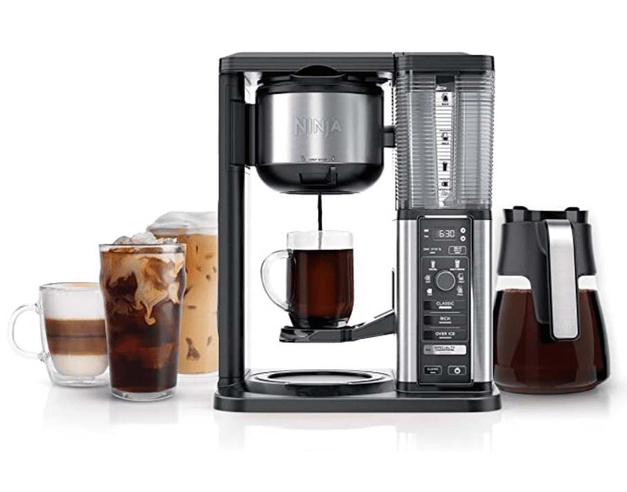 A versatile and multifunctional coffee machine. She will infuse your drink with new flavors.