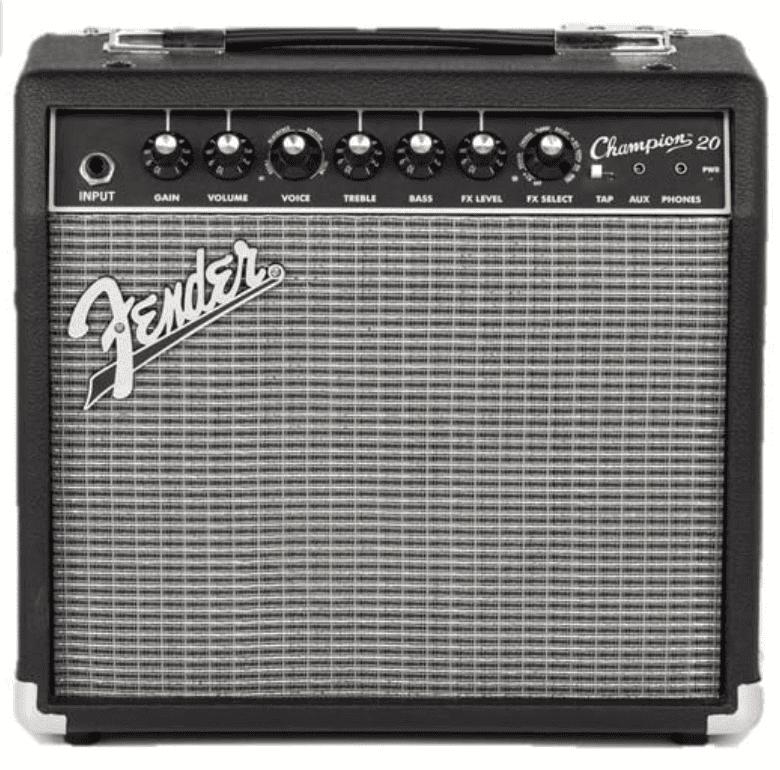 Fender Champion 20 - 20-Watt Electric Guitar Amplifier.