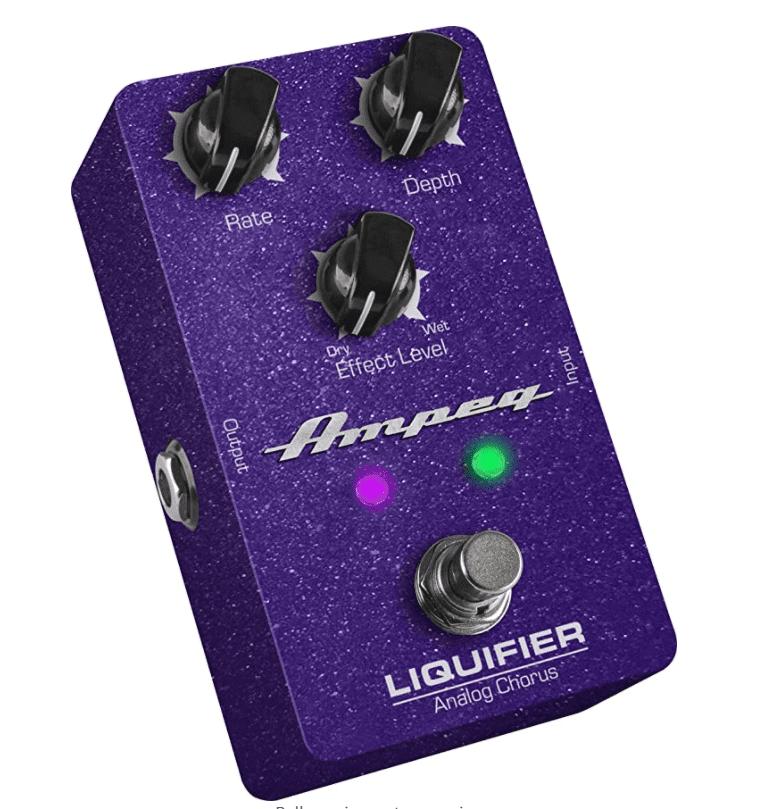 Ampeg Guitar Chorus Effects Pedal.
