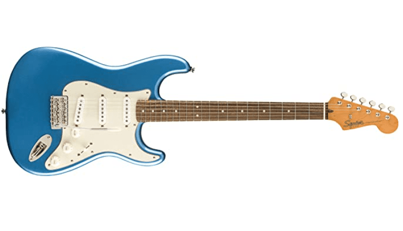 Squier by Fender Classic Vibe 60's Stratocaster - Laurel - Lake Placid Blue.