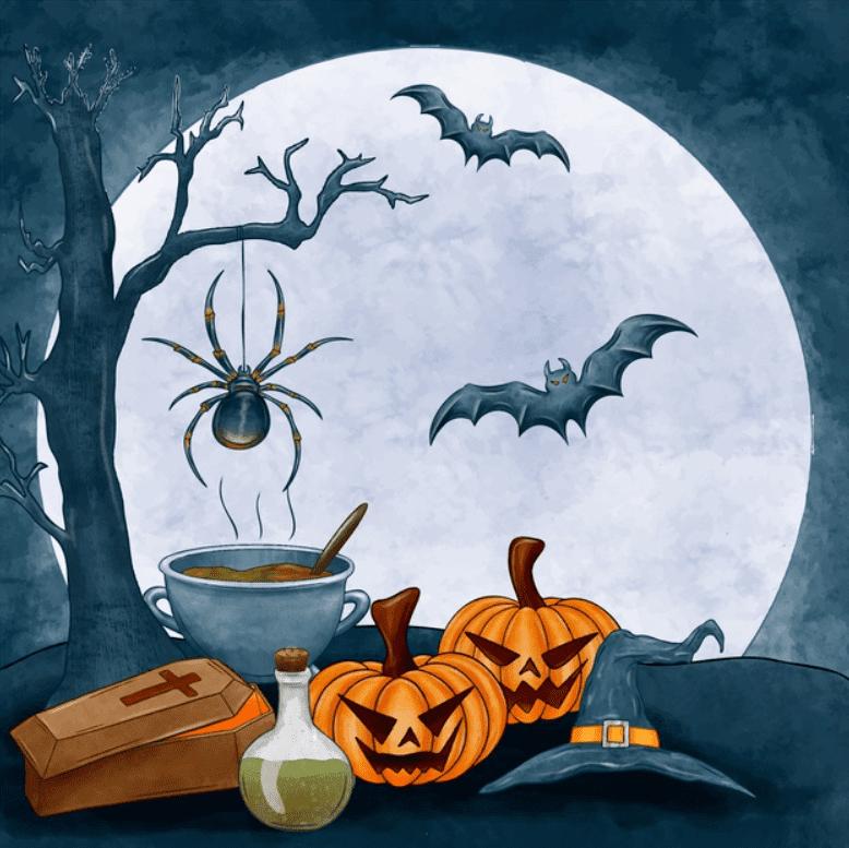 120+ Best Halloween Background Images 2020 - halloween backgrounds 3