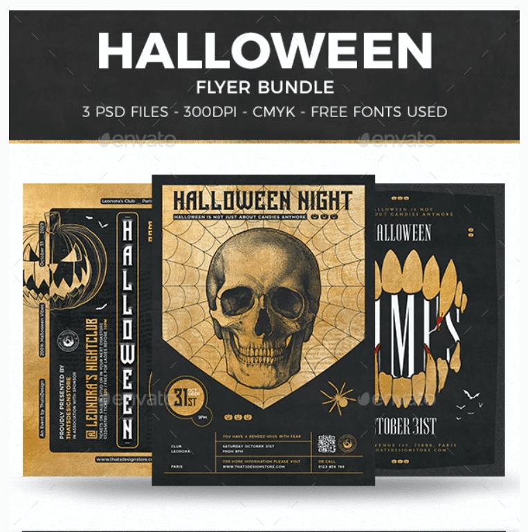 40+ Halloween Design Bundles in 2020: Amazing Design Resources with up to 90% OFF - halloween design bundle 10