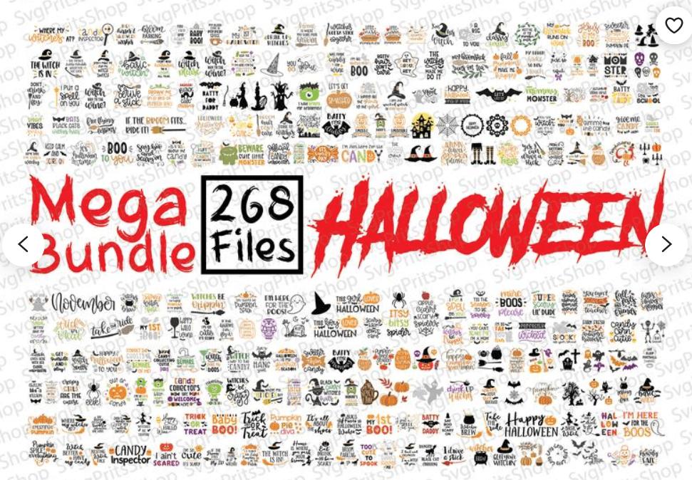 40+ Halloween Design Bundles in 2020: Amazing Design Resources with up to 90% OFF - halloween design bundle 12
