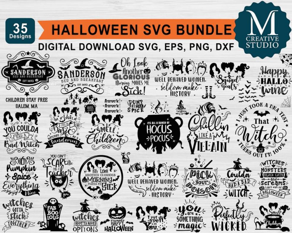 40+ Halloween Design Bundles in 2020: Amazing Design Resources with up to 90% OFF - halloween design bundle 14