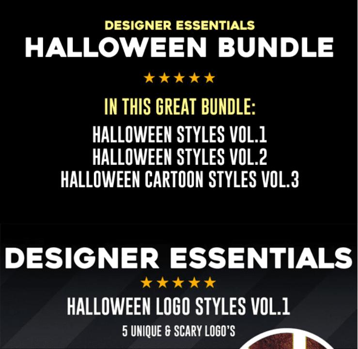 40+ Halloween Design Bundles in 2020: Amazing Design Resources with up to 90% OFF - halloween design bundle 16
