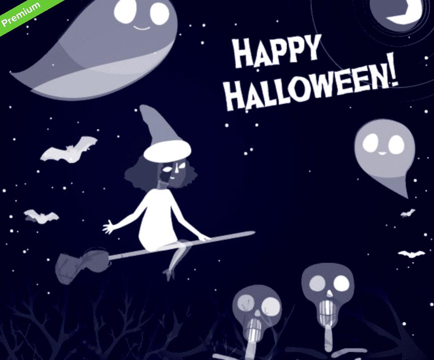 40+ Halloween Design Bundles in 2020: Amazing Design Resources with up to 90% OFF - halloween design bundle 17