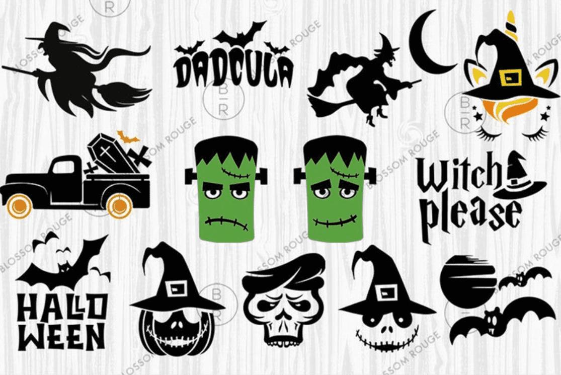 40+ Halloween Design Bundles in 2020: Amazing Design Resources with up to 90% OFF - halloween design bundle 5