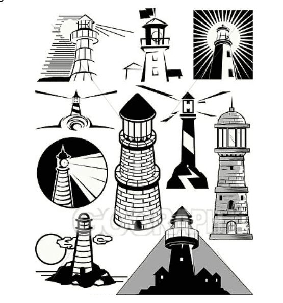 Everything You Need to Know about Lighthouse Clipart - lighthouse clipart bundle 2