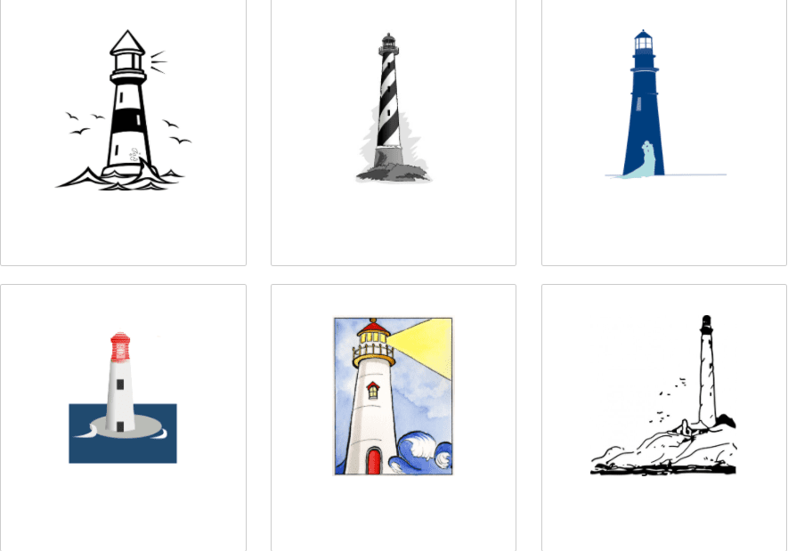 Everything You Need to Know about Lighthouse Clipart - lighthouse clipart bundle 3