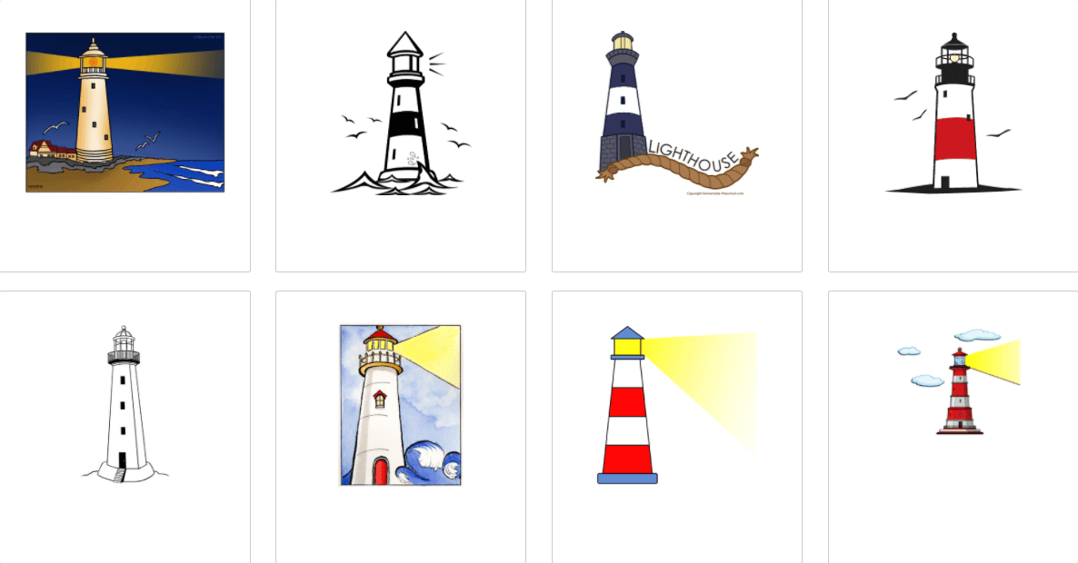Everything You Need to Know about Lighthouse Clipart - lighthouse clipart bundle 4