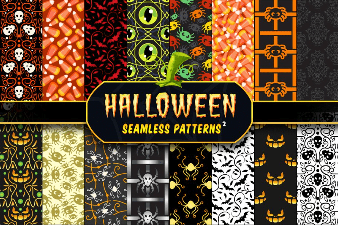 Halloween Pattern You Will Need This Spooky Season - pattern 10