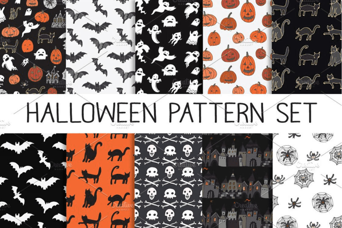 Halloween Pattern You Will Need This Spooky Season - pattern 13