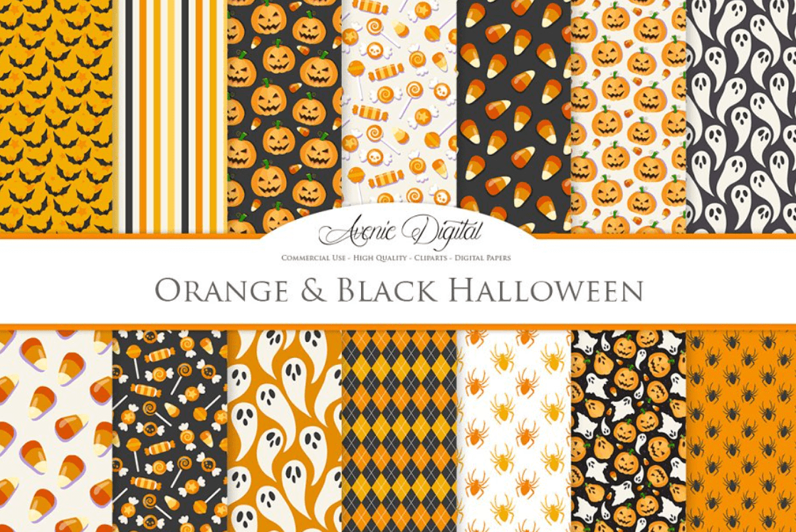 Halloween Pattern You Will Need This Spooky Season - pattern 14