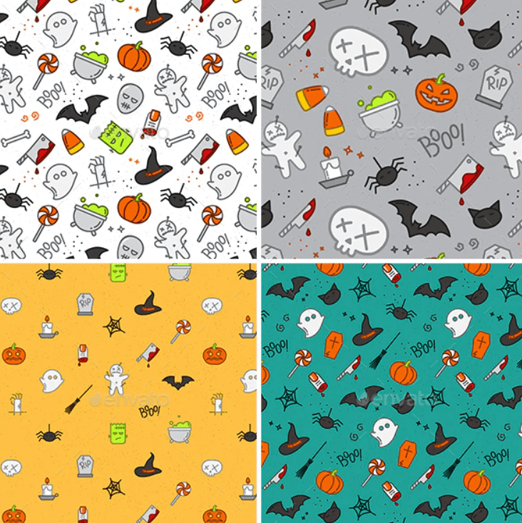 Halloween Pattern You Will Need This Spooky Season - pattern 15