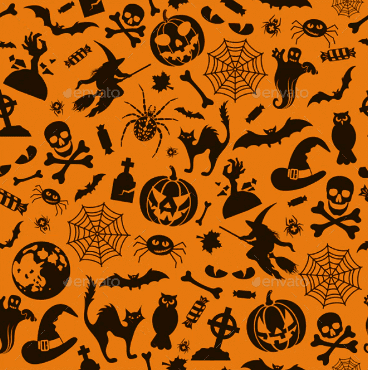 Halloween Pattern You Will Need This Spooky Season - pattern 16