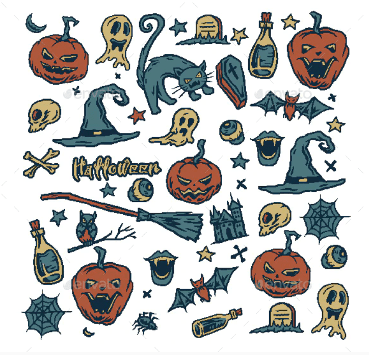 Halloween Pattern You Will Need This Spooky Season - pattern 17