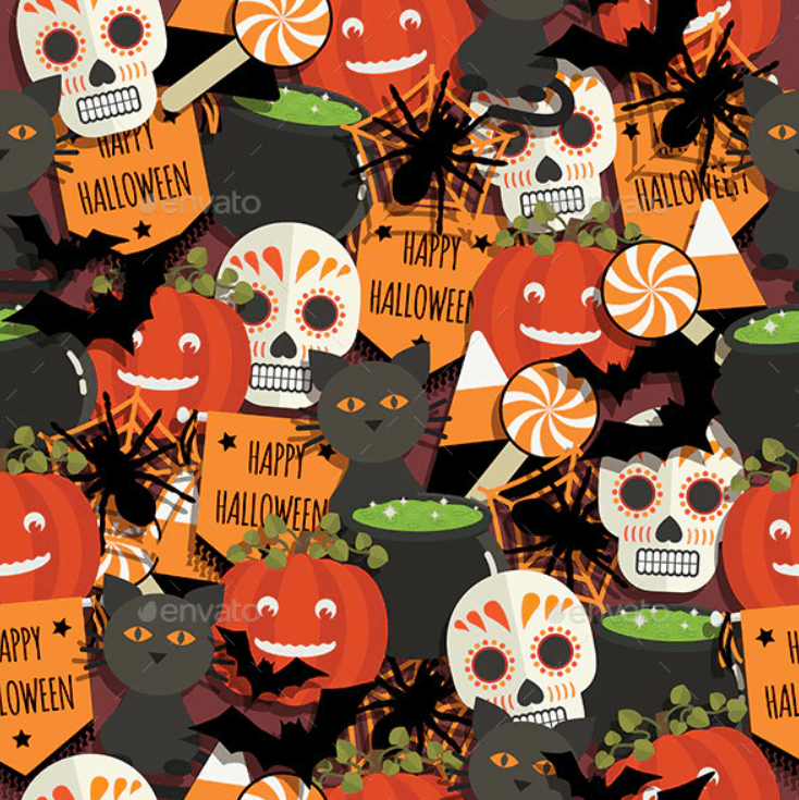 Halloween Pattern You Will Need This Spooky Season - pattern 18