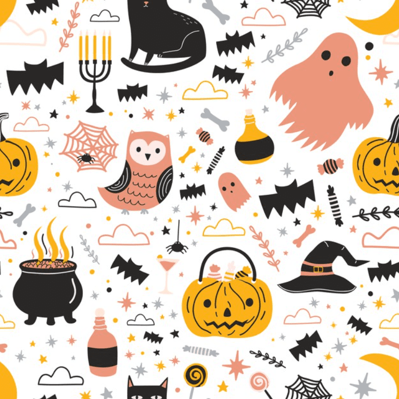 Halloween Pattern You Will Need This Spooky Season - pattern 2