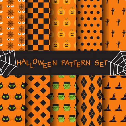Halloween Pattern You Will Need This Spooky Season - pattern 32