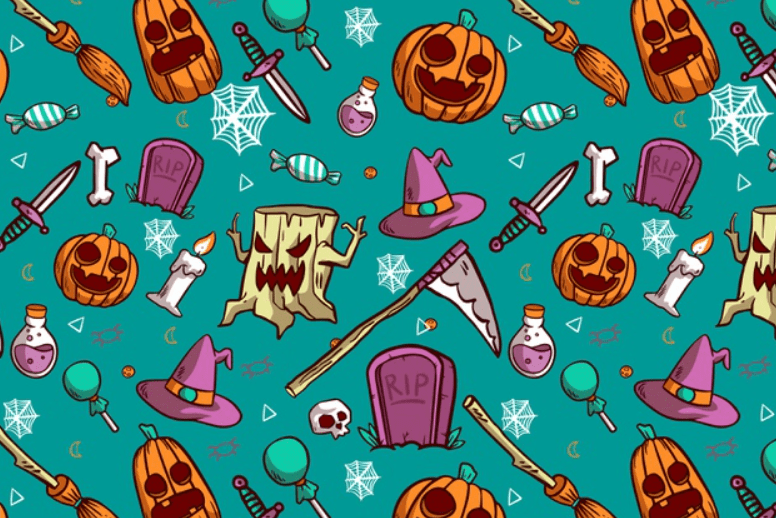 Halloween Pattern You Will Need This Spooky Season - pattern 7