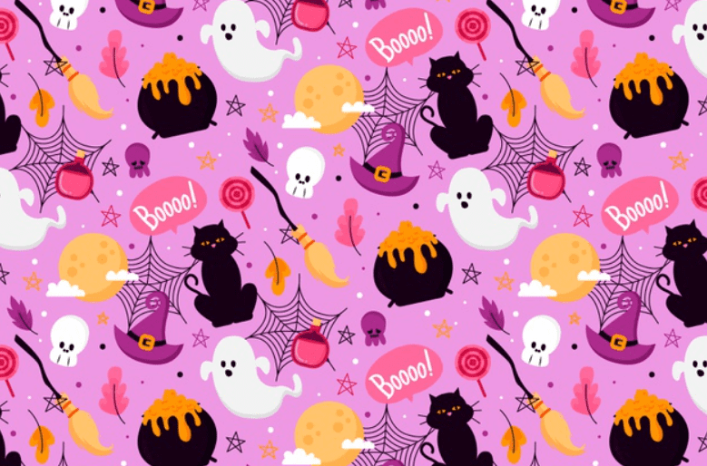 Halloween Pattern You Will Need This Spooky Season - pattern 8