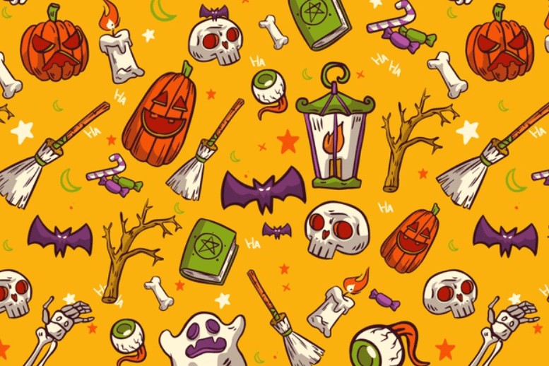 Halloween Pattern You Will Need This Spooky Season - pattern 9
