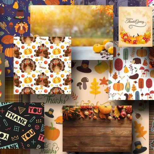Best Thanksgiving Background Images.