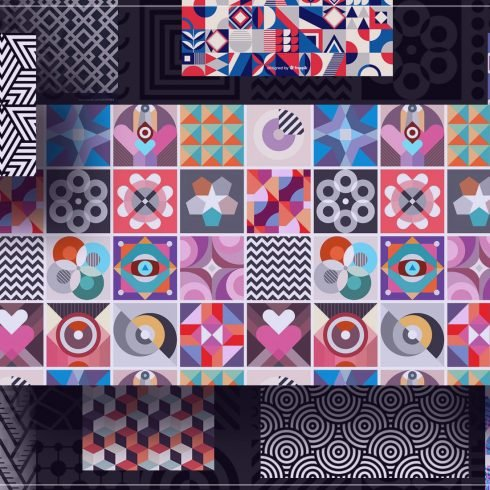 35+ Trending Geometric Patterns 2021 To Use In Your Designs