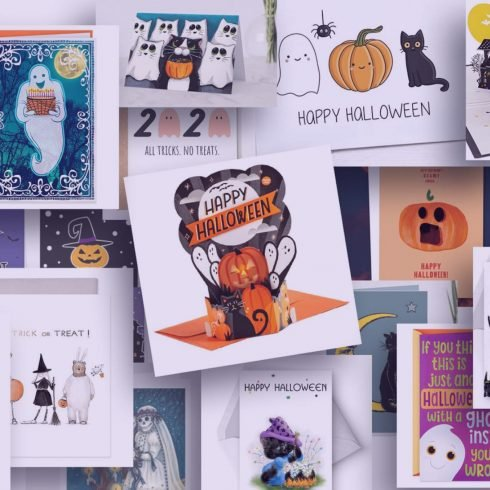 Examples Of The Best Cards For Halloween.