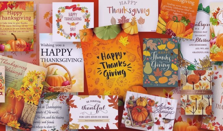Examples Best Thanksgiving Cards.