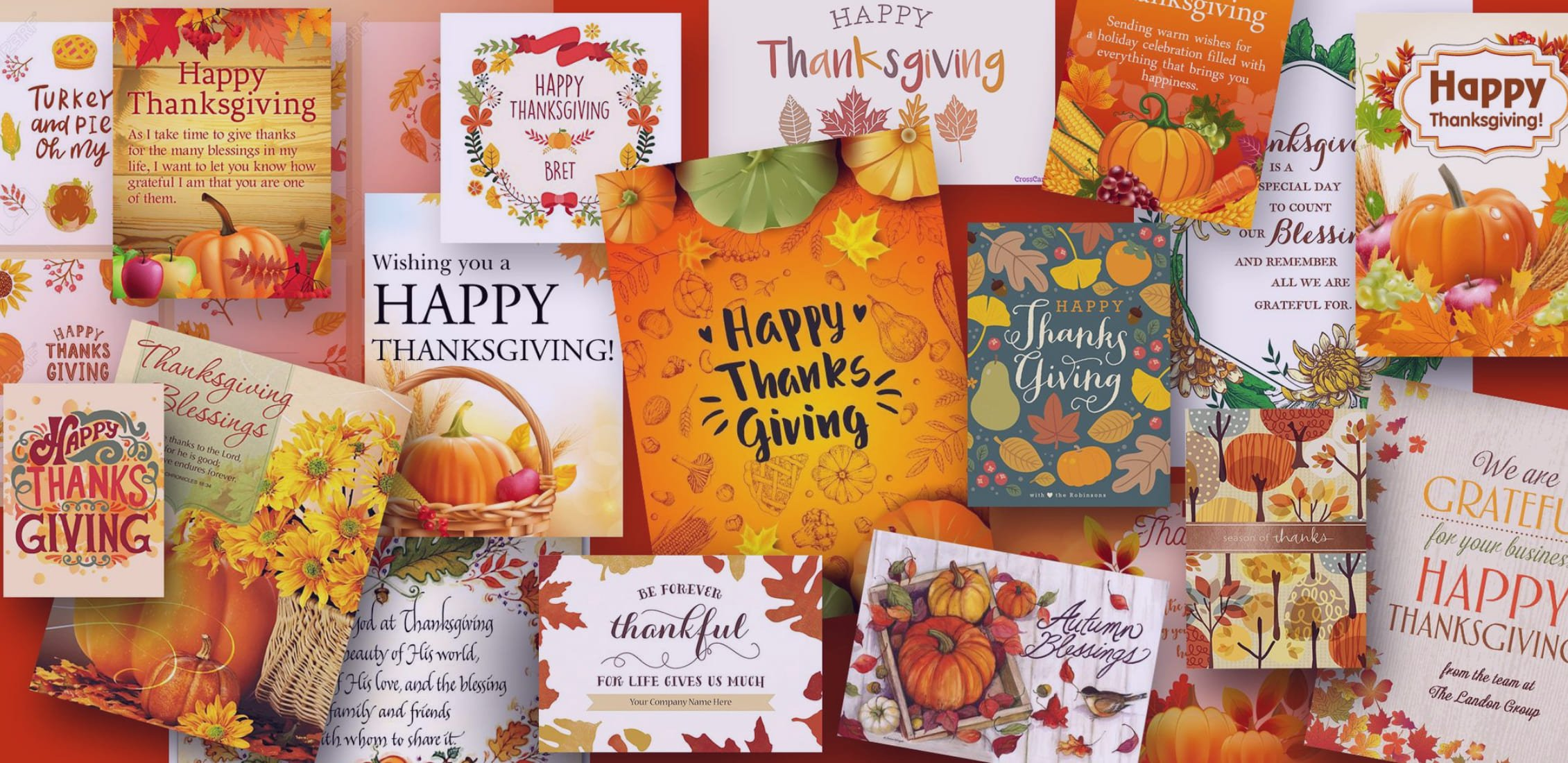 What To Write In A Card. 60+ Best Christmas And Other Occasions Greeting Card - best thankgiving cards